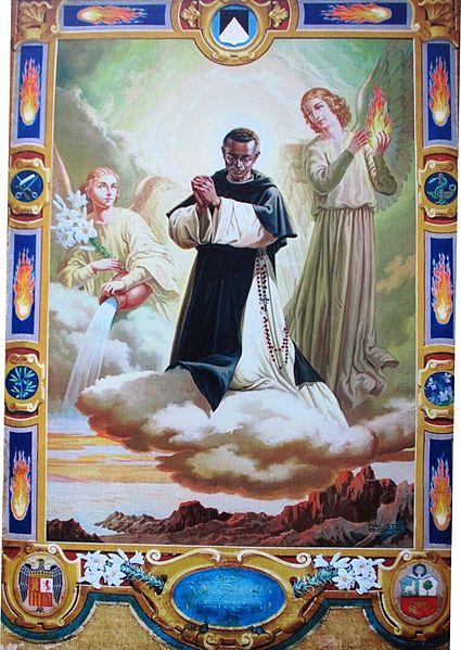 San Martín de Porres canonizado por Juan XXIII
