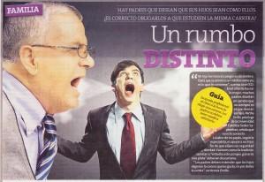 UN RUMBO DISTINTO  (Perú21 12/10/2014)