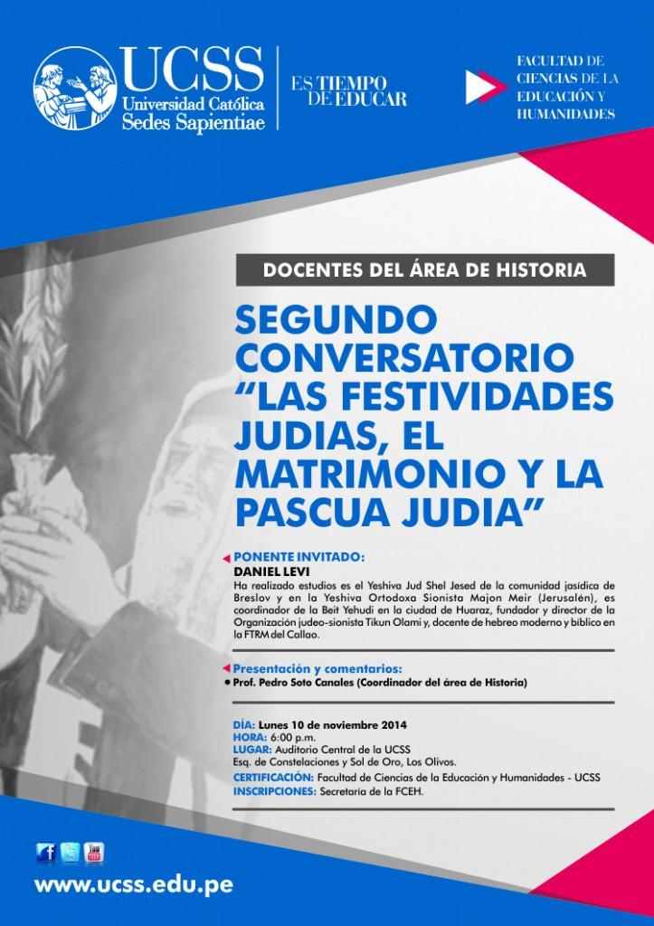 SEGUNDO CONVERSATORIO JUDEO CRISTIANO