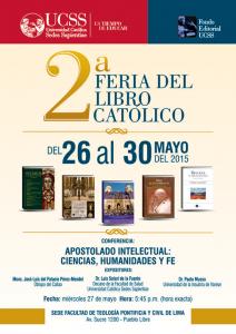 2da Feria Libro Católico 26-30 mayo 2015