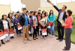 Bienvenida alumnos BECA 18 2
