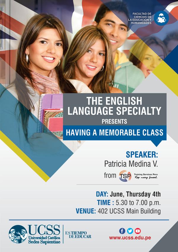 Educación - Having a memorable class 04-06-2015