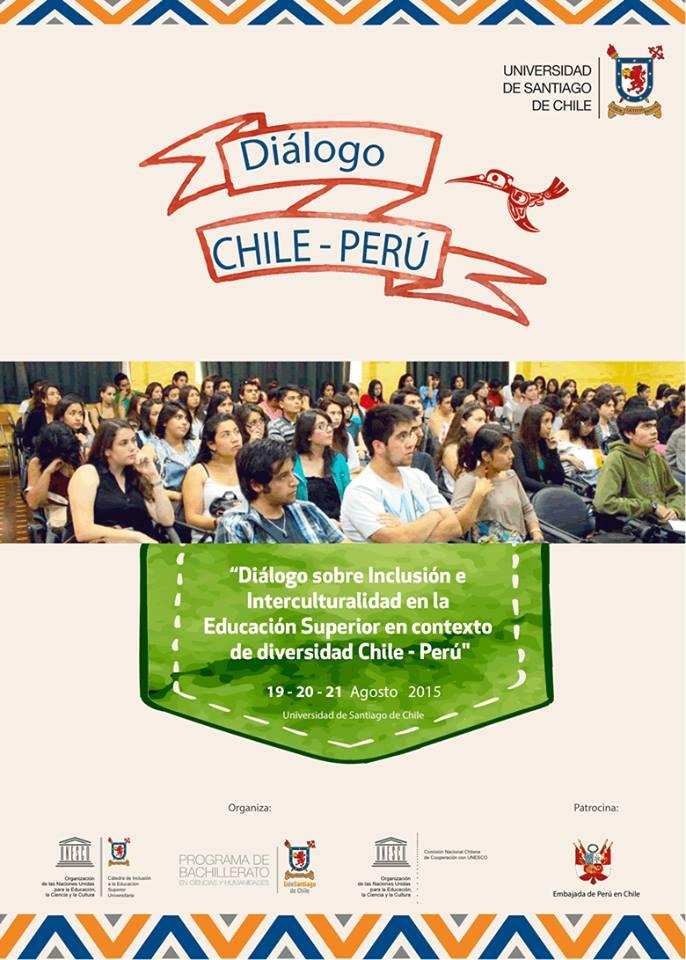 NOPOKI - USACH Dialogo Chile Peru - Agosto 2015