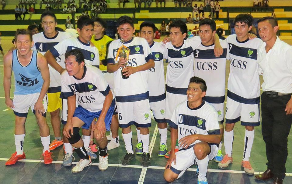 UCSS Nueva Cajamarca - Campeones Regionales - Futsal masculino