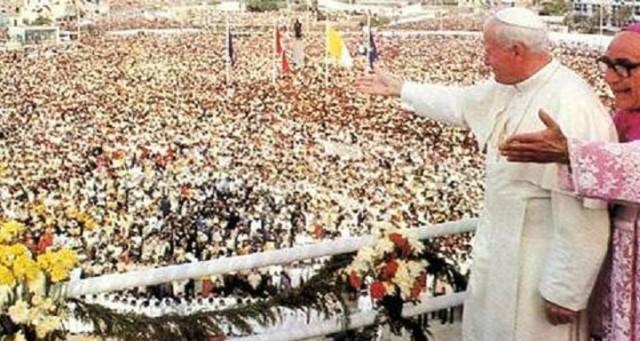 Juan Pablo II en el Perú