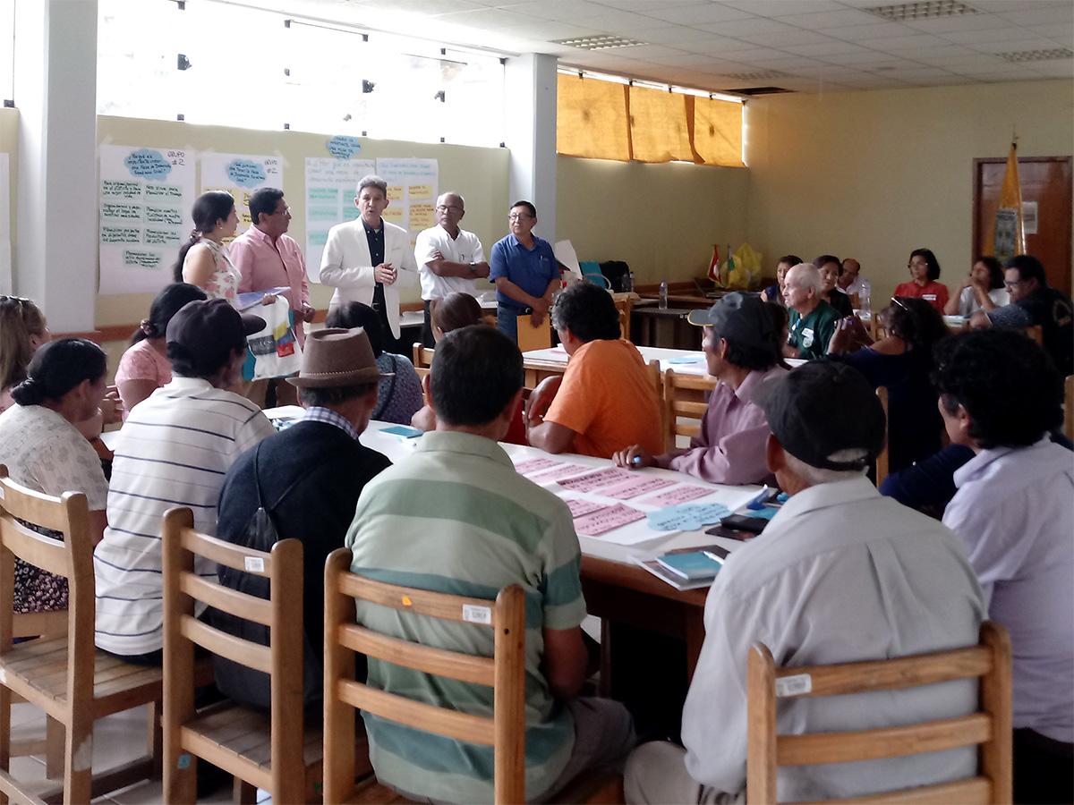 Mesa para el Desarrollo Económico Local del distrito de LURIGANCHO-CHOSICA