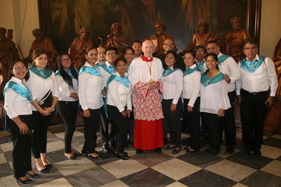 Coro Polifónico UCSS cantó la misa de PASCUA de RESURRECCIÓN en la CATEDRAL