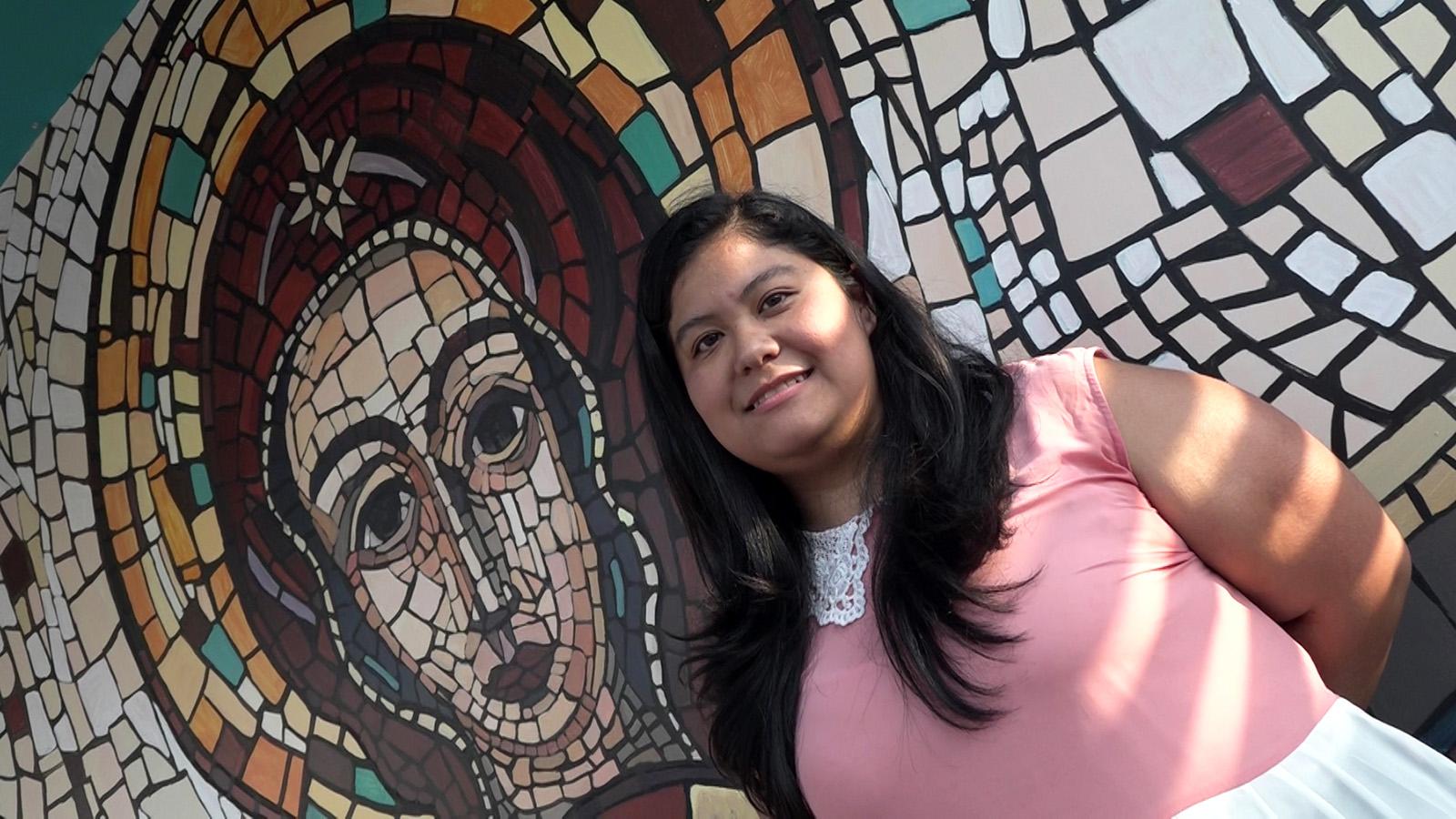 Estudiante mexicana cursa estudios en la UCSS