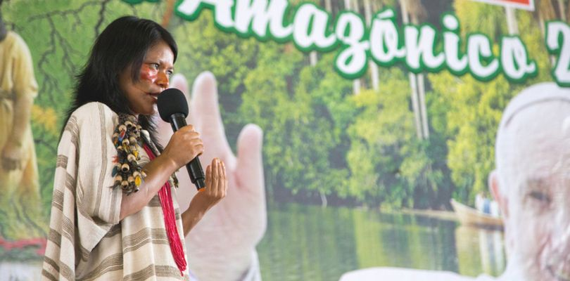 Amalia Casique, la docente peruana que busca rescatar la lengua ashéninka