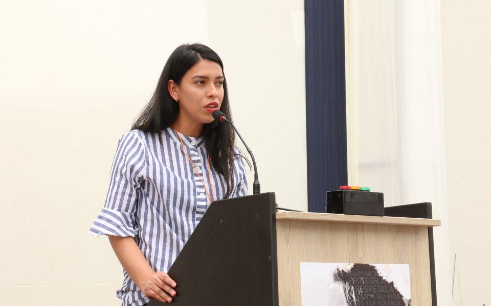 Estudiante de la FDCP, Zuleyka Torrejón
