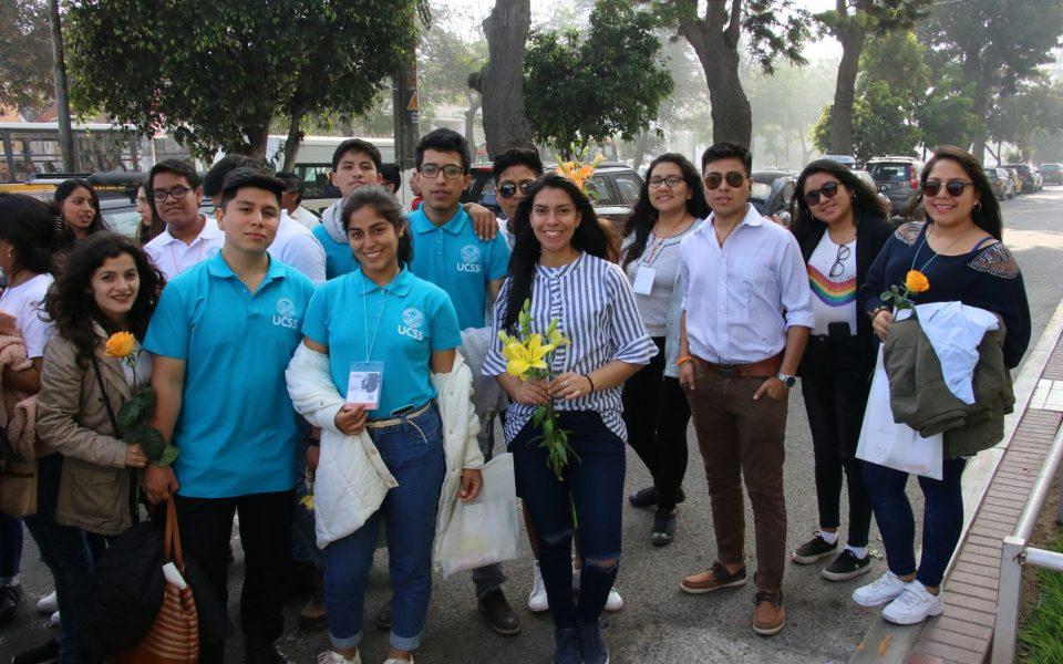 Alumnos de la FDCP, de la UCSS