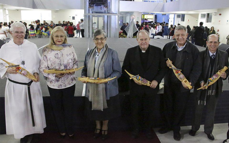 Autoridades del II Congreso de Universidades Católicas