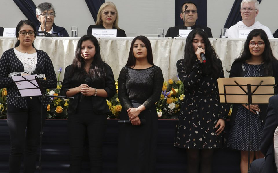 Alumnas de la Universidad Católica de Trujillo