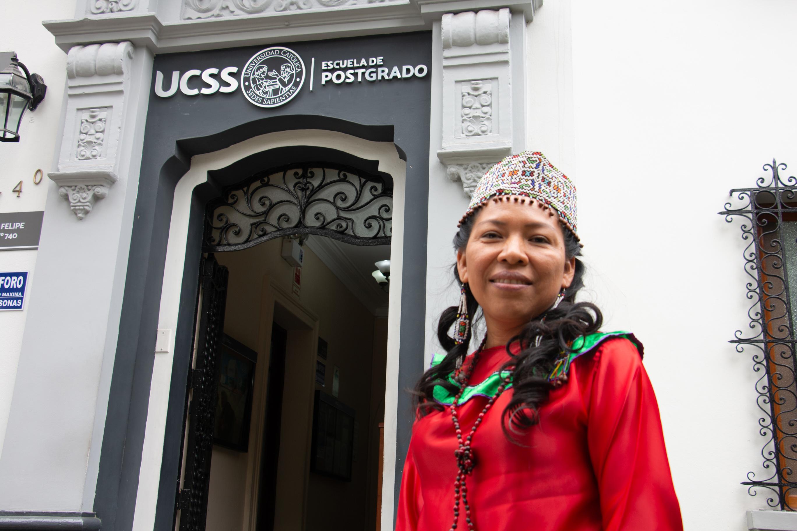 Jovita Vásquez Balarezo sustenta tesis de maestría en shipibo y marca un hito para la interculturalidad y la inclusión en el Perú