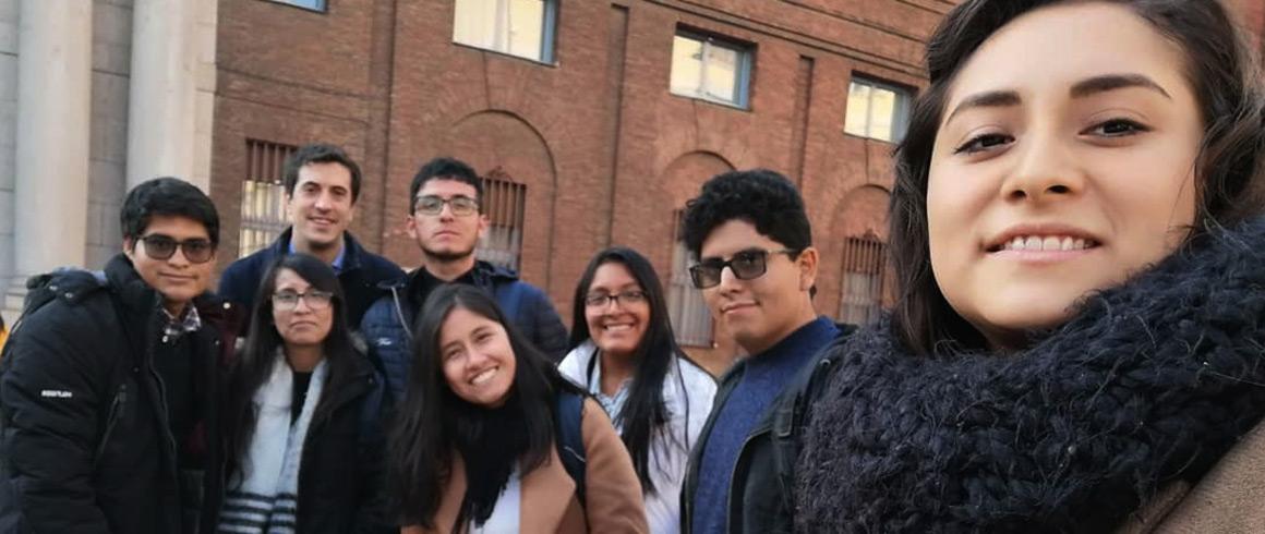 Stage 2020: Estudiantes UCSS partieron a Italia para vivir la experiencia pre profesional en la fundación EDUcatt